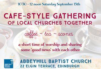 Cafe Style Gathering