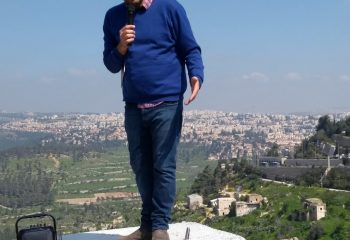 From our Minister Russell in Israel/Palestine DAY 1