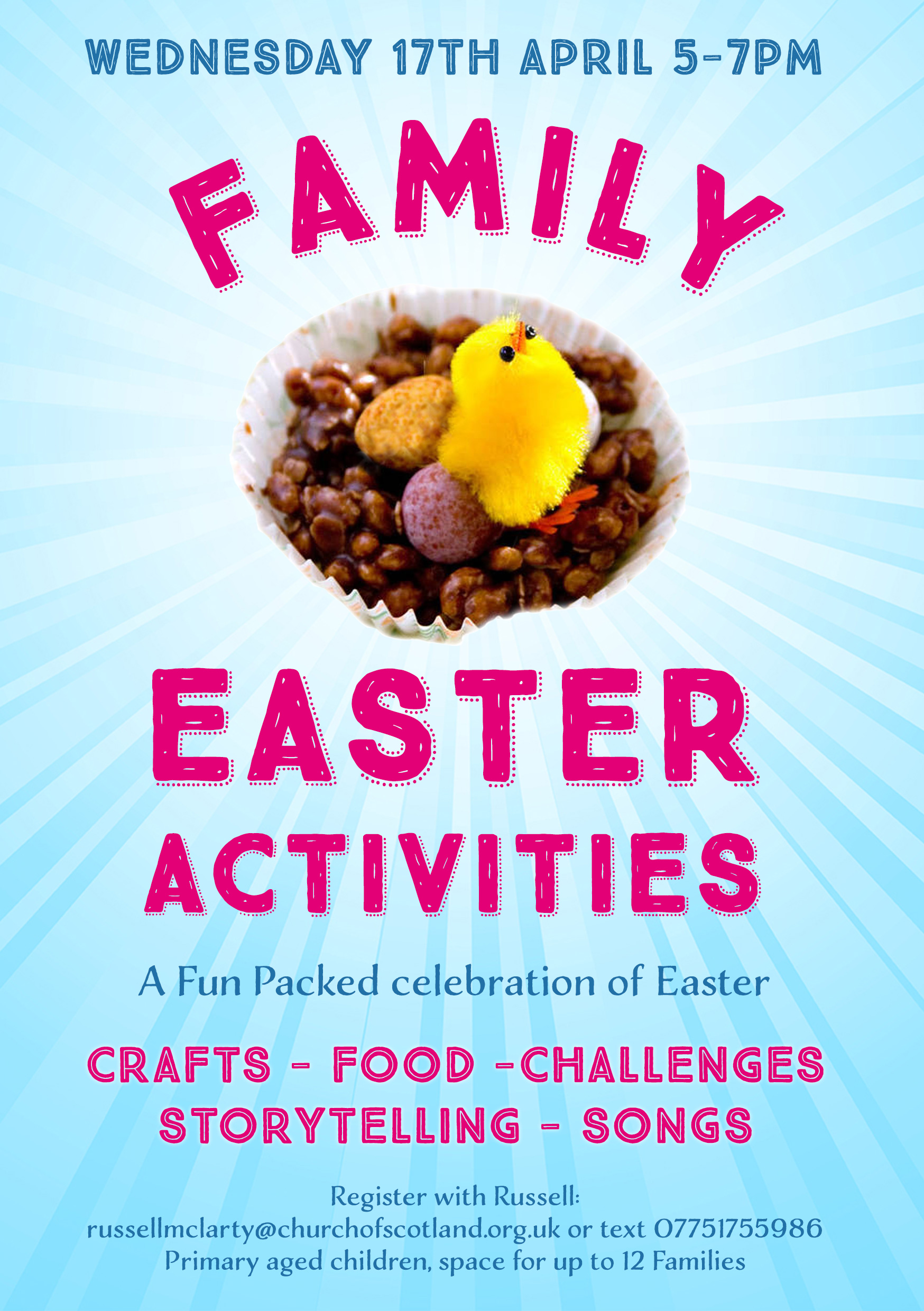 Meadowbank Church Family Easter Activities Church Of Scotland