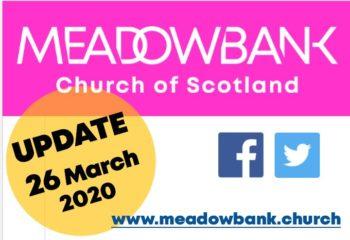 UPDATE 26 March 2020