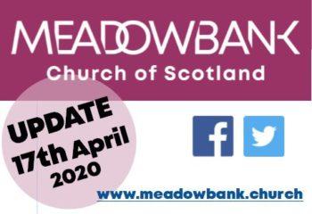UPDATE 17 April 2020