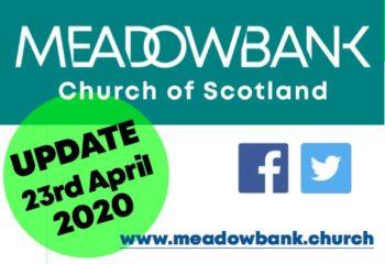 UPDATE 23 April 2020