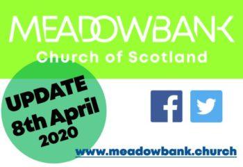 UPDATE 8 April 2020