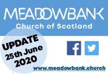 UPDATE 25 June 2020