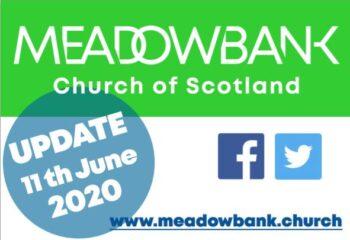 UPDATE 11 June 2020